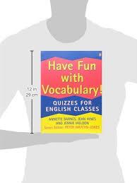 Annette Barnes Have Fun With Vocabulary Penguin English Annette Barnes Jean