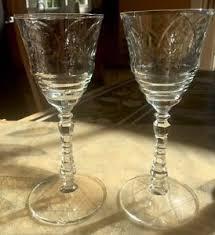 beautiful wine glasses vintage beautiful star of david wine glasses set of 2 4oz ebay