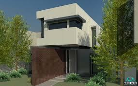 Cantilever Home House Designs Geelong Builders - Narrow block home designs