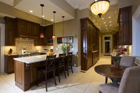 hopsack paint with tile floor kitchen contemporary and traditional