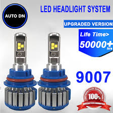 Led Light Bulbs For Headlights by 2pcs Auto Dn 6000k Led Headlight High Beam Low Beam Light Bulb