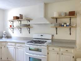 diy kitchen shelving ideas diy kitchen wall shelves ideas