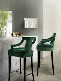 new collection by brabbu modern bar chairs for hospitality