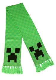 Minecraft Creeper Halloween Costume Creeper Scarf
