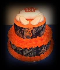 camo baby shower camouflage baby shower cakecentral
