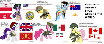 Bronies Meme - 6 nations 1 thing in common even those who defend them are
