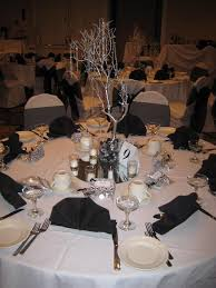 New Year Wedding Decorations by New Years Eve Black U0026 White Wedding Centerpieces Cupcake T U2026 Flickr
