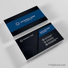 visitenkarte design universal visitenkarten design topdruck