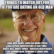 Old Time Meme - smiling old man imgflip