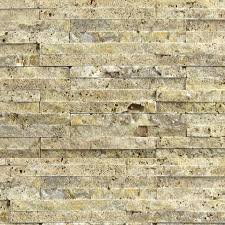 Split Face Stone Backsplash by Noce Travertine Mosaic Tile Qdisurfaces