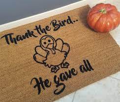 doormat mats welcome mat thanksgiving gift