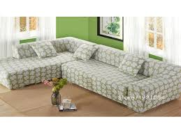 Slipcover Sofa Sectional Living Room Sectional Sofa Covers Luxury Flower Tight Elastic