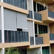 Outdoor Rolling Blinds Balconyblinds Outdoor Shade Solutions
