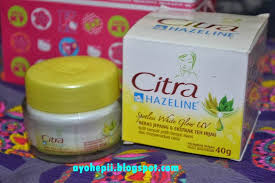 Pelembab Citra Warna Kuning just tell about all my story review citra hazeline spotless white glow