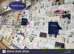 selection of wedding and engagement greeting cards for sale on a