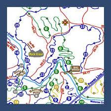 carolina world map atv trails sc