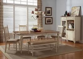 Maple Dining Room Set Rectangular Casual Dining Table In Maple Veneers With Weathered