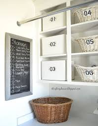 Discount Laundry Room Cabinets How I Organized My Open Cabinets In The Laundry Room Cheap Hometalk