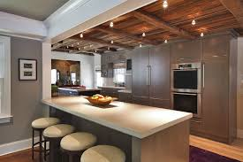 Track Kitchen Lighting Rustic Track Lighting Wonderful Kitchen With Rustic Track