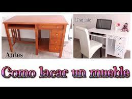 como lacar muebles de madera tutorial muebles lacados en blanco