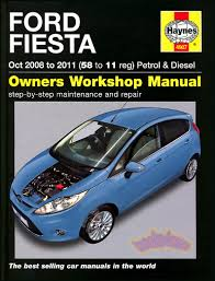 fiesta shop manual ford service 2009 2010 2011 repair book haynes
