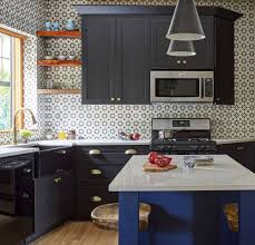 kitchen wall colors with black cabinets kitchens with black cabinets