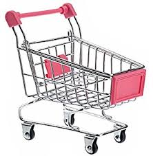 Mini Shopping Cart Desk Organizer Amazon Com Novelty Mini Shopping Cart Toys U0026 Games