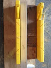 two it yourself how to cut chair rail trim with a miter box saw