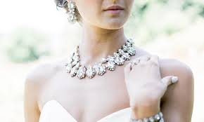 wedding jewelry how to the wedding jewelry for your dress olive piper