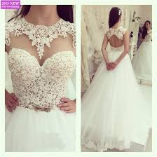 key back wedding dress princess a line lace wedding dress key back sleeveless floor