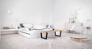 Scandinavian Bedroom Decor Ideas With Perfect And White Color - White color bedroom design