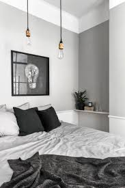 black white and silver bedroom ideas in simple suede duvet decor