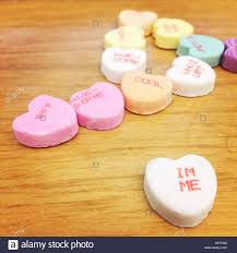 valentines heart candy sayings candy hearts for s day with a variety of sayings written