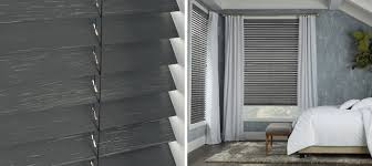 weathered wood blinds parkland hunter douglas canada