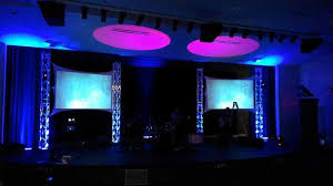 Truss Lighting Phoenix Church Stage Lighting Digital Audio Sound Video A V