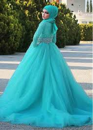 islamic wedding dresses buy discount gorgeous tulle lace waisline gown