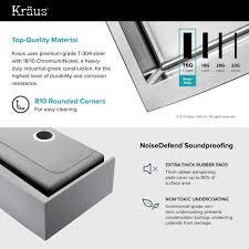 30 Inch Kitchen Cabinet by Stainless Steel Kitchen Sinks Kraususa Com