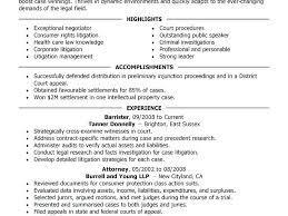 attorney sample resume legal resumes sample law enforcement resume
