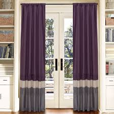 Purple Curtains Exclusive Home Akola Grommet Top 84 Inch Curtain Panel