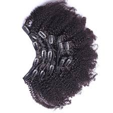 clip ins 7a 4b 4c curly clip in human hair extensions 7pc