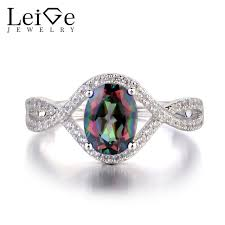 oval shaped engagement rings leige jewelry mystic topaz ring oval shaped engagement rings