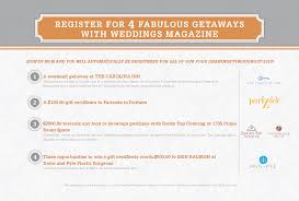 gifts to register for wedding register for free gifts weddings magazine