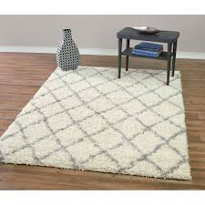 bedroom white moroccan pattern contemporary wool rug with