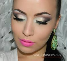 make up tips for salt and pepper hair glossy gray smokey eye makeup tutorial fashionisers