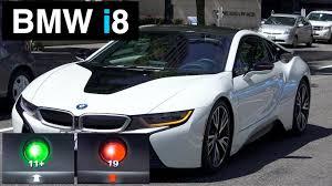 Bmw I8 Engine - 2015 bmw i8 test drive predicting traffic lights youtube
