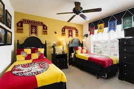 chambre theme décoration thème harry potter pour chambres de sorciers