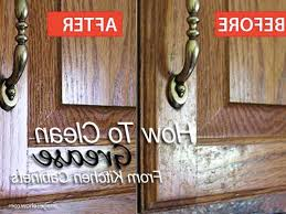how to get grease off kitchen cabinets kitchen decoration