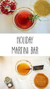 christmas martini recipes martini bar perfect for a holiday christmas or anytime party