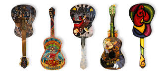 10 guitars bringing an outdoor art exhibit to winter garden fl