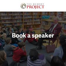speakers bureau canada book a speaker the memory project